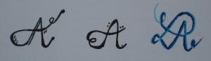 Fancy Letters Buchstaben 2