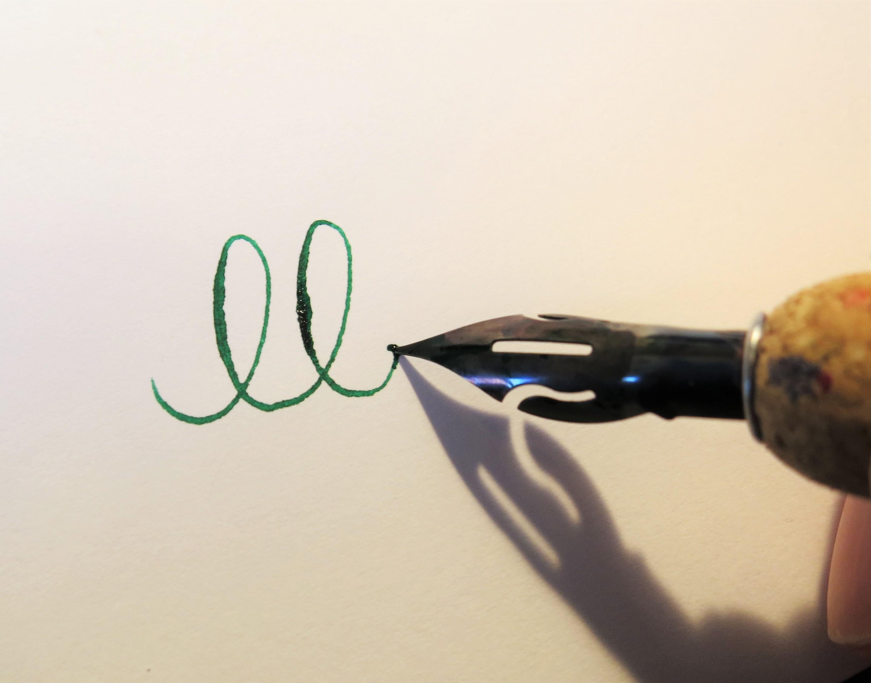 sammeln in schreibschrift