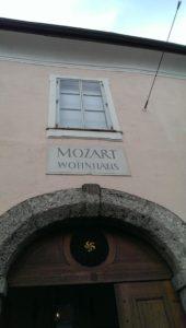 Mozarts Wohnhaus Salzburg