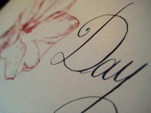 Kalligraphy Happy Day