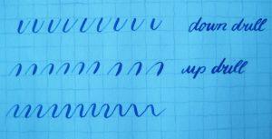 Kalligraphie Basics Bögen