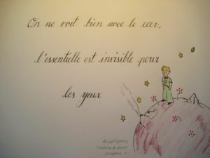 Le petit prince Kalligraphie 5