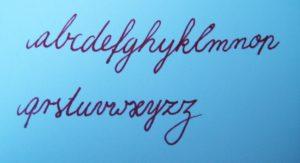 schreibschrift-unsinnig