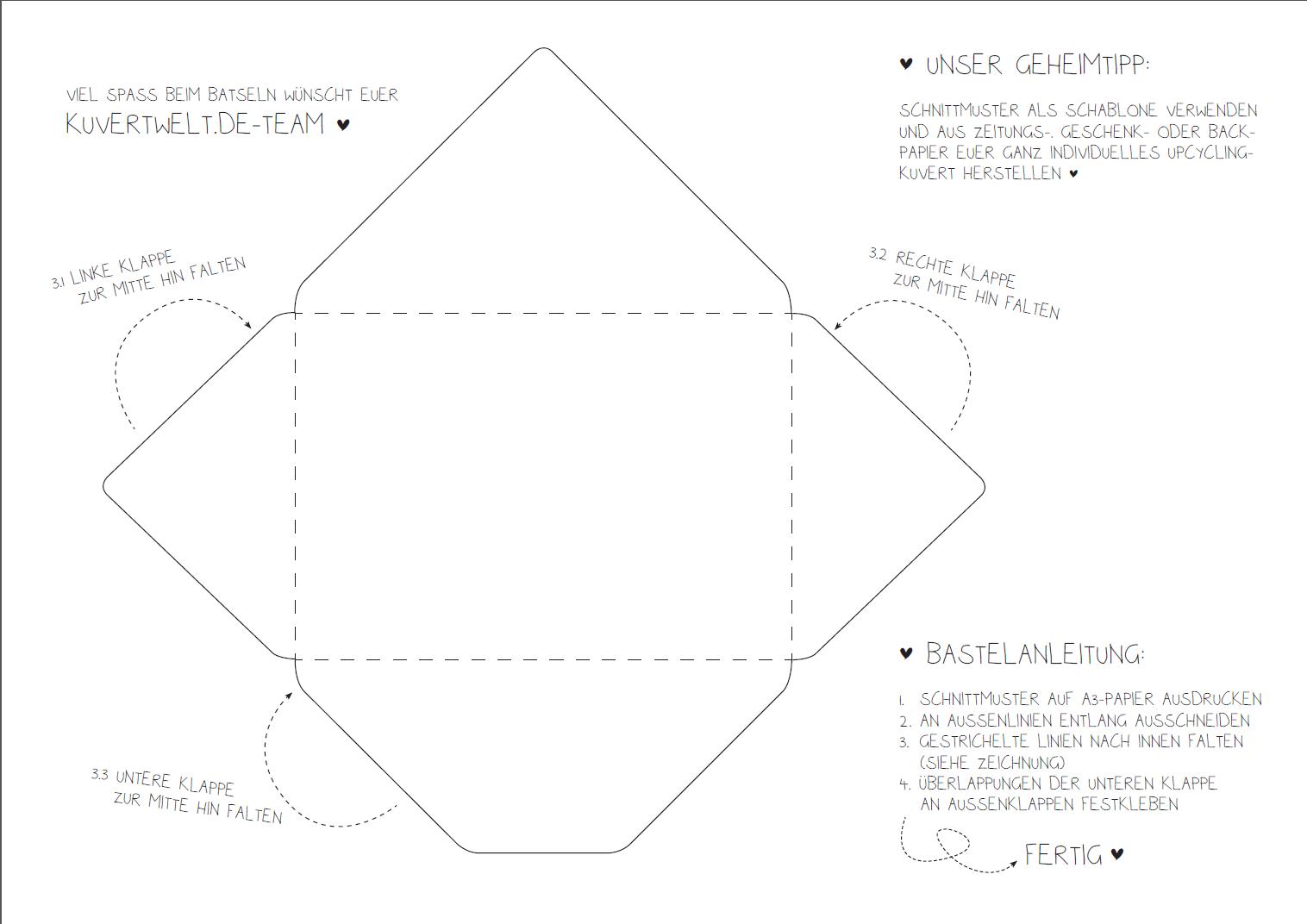 Wunderbar Briefumschlagschablone Bilder - Beispielzusammenfassung ...